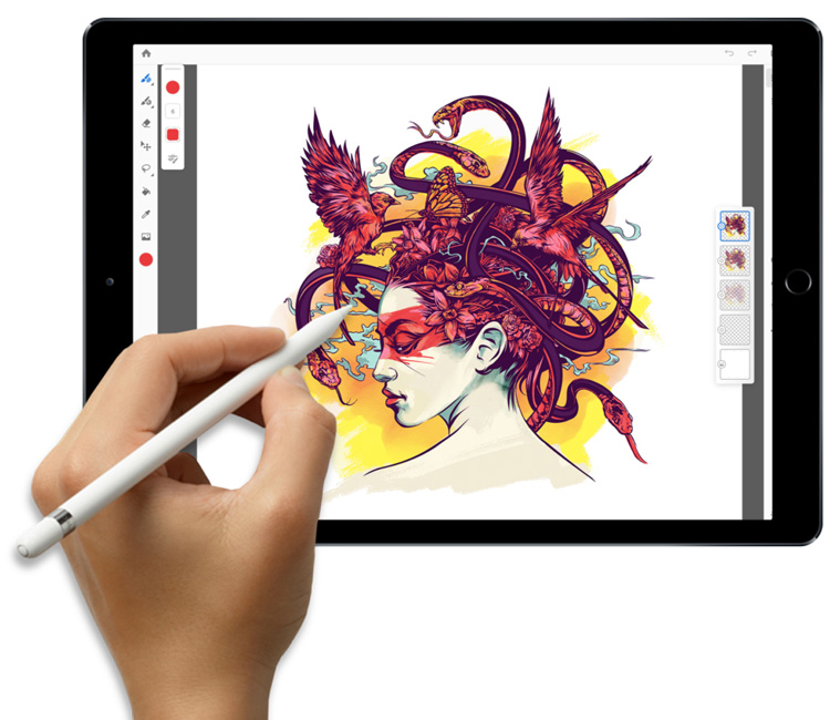 The Full Version of Photoshop CC is coming to the iPad in 2019