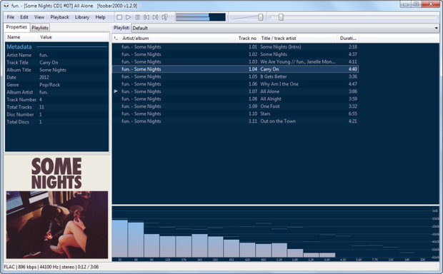 foobar2000 free music player software for windows 10