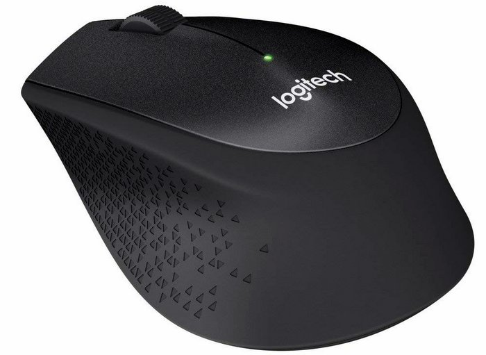 Logitech M330 Silent Plus Wireless Large Mouse
