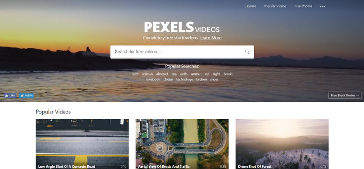 Pexels best free stock video footage