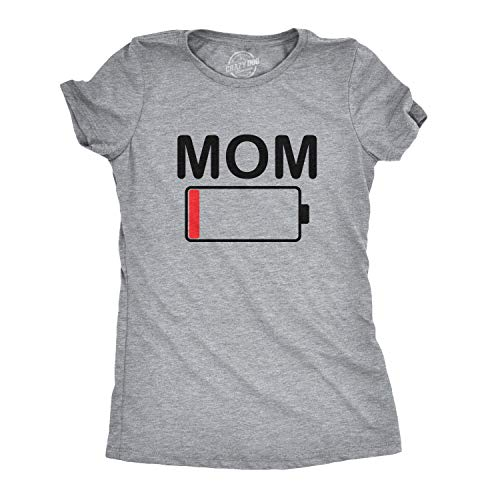 Mom Battery Low T-Shirt